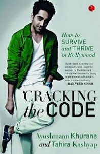 Tahira Kashyap co-authored Cracking The Code Book