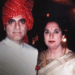 Deepak Chopra with his wife Rita Chopra