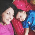 Deepali Pansare With Her Son
