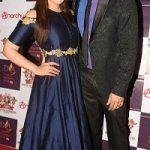 Deepshikha with husband