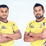 Dharamraj Cheralathan with his brother(Left)