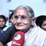 Dharmaraj Cheralathan mother