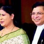 Dipak Misra With His Wife