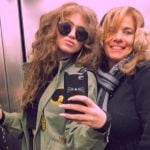 Dytto with her mother