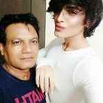 Gauri Arora with her dad