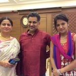 Gulki Joshi with Parents