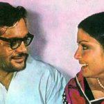 Gulzar With His Wife Raakhee