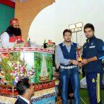 Honeypreet Insan brother Jasmeet Singh Insan (centre) And Virat Kohli
