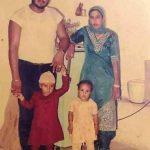 Gurmeet Ram Rahim With His Wife Harjeet And Two Children