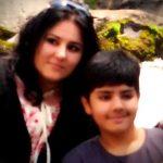 Guroudev Bhalla wife & son