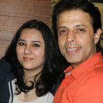 Guroudev Bhalla with his wife