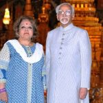 Hamid Ansari With His Wife
