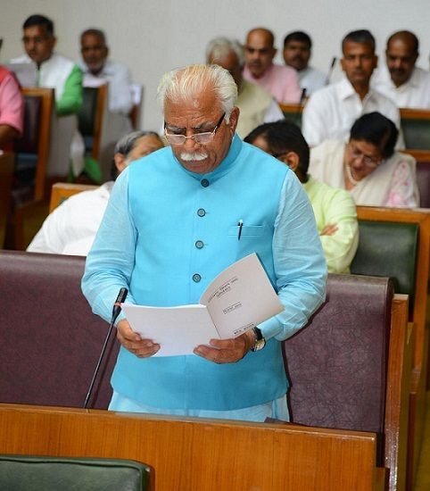 Haryana CM Manohar Lal Khattar being critisized for not maintaining law & order in the state