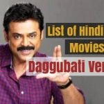 List of Hindi Dubbed Movies of Daggubati Venkatesh (25)