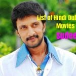 List of Hindi Dubbed Movies of Sudeep (15)