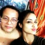 Ishita Ganguly with her father
