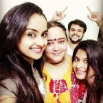 Ishita with her mother, brother & sister