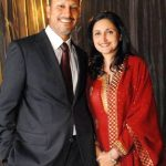 Jeev Milkha Singh With His Wife Kudrat