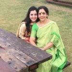 Jyoti Sharma mother and her sister Pooja