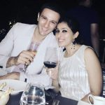 Karan Suchak with his wife