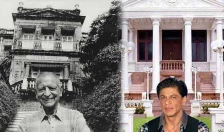 Kekoo Gandhy (left) and Shah Rukh Khan (right)