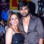 Manish Goel with his wife Poonam Narula