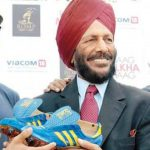 Milkha Singh Spike Shoes