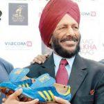 Milkha Singh Spike Shoes