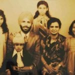 Nirmal Kaur With Her Husband, Three Daughters and A Son