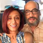 Mohan Kapoor with Achint Kaur