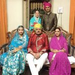 Mohena Singh with Her Family
