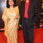 Moushumi Chatterjee with Husband Jayant Mukherjee