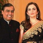 Nita Ambani With Mukesh Ambani