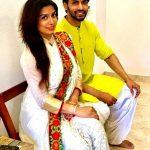 Naman Shaw with his fiancee Neha Mishra