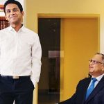 Narayana Murthy With His Son