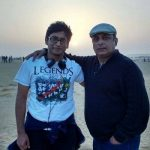 Piyush Mishra with his son Josh