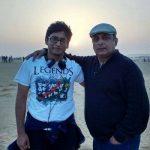 Piyush Mishra with his son Josh
