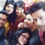Pooja Sharma with Aishwarya Sakhuja and Sehban Azim