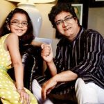 Prasoon Joshi with his daughter