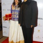 Prasoon Joshi with his wife