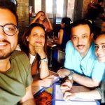 Priya Tandon with her family