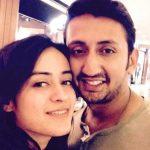 Priya Tandon with her husband Rudra Anand