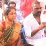 Raghava lawrence with his wife Latha
