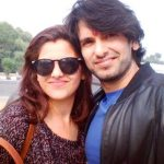 Rahul Sharma with his sister Rashmi Sharma