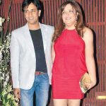 Rajeev Paul with Sunaina Roshan