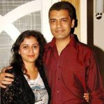 Reena Kapoor with her husband Karan Nijher