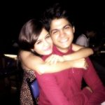Resha Konkar with her brother Rusheel Konkar