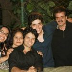 Ripu Daman with his family