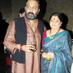 Sai Ballal with his wife Shama Deshpande