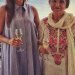 Sarita Joshi with daughter